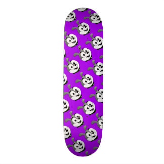 ToonyThings™ klassisches Häschenlila Skateboard Brett