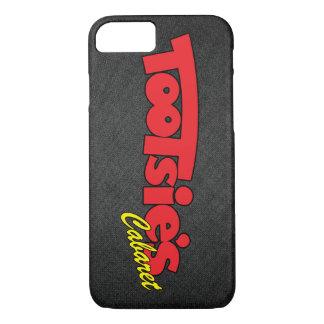 Tootsies-Kabarett-graue Abdeckung für iPhone 7 iPhone 8/7 Hülle