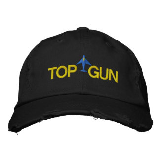 Top Gun stickte Hut