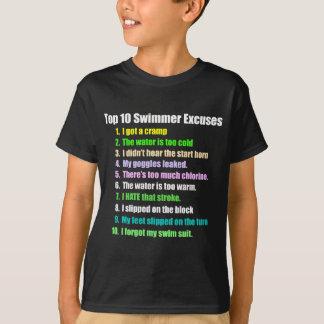 Top Ten-Schwimmer-Entschuldigungen
