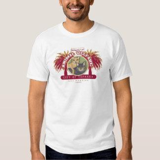 Topanga Miezekatze durch Robyn Feeley T Shirts