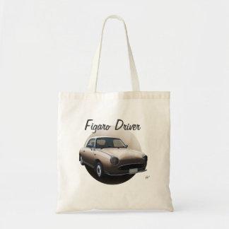 Topaz-Nebel-Nissan Figaro Fahrer-kundenspezifische Tragetasche