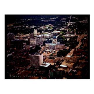 Topeka, Kansas Postkarte