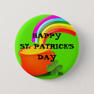Topf O Goldst patrick TagesButton Runder Button 5,7 Cm