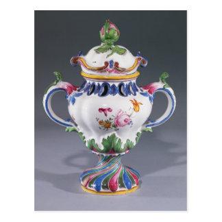 Topf-pourri Vase, hergestellt in Straßburg, Postkarte