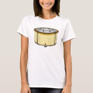 Topf-Topf-Mädchen T-Shirt