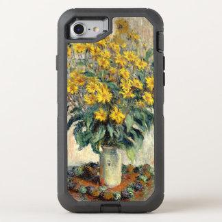 Topinambur-Blumen 1880 Claudes Monet OtterBox Defender iPhone 8/7 Hülle
