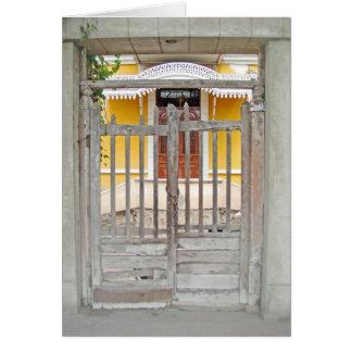 Tor zu einem alten Haus - Magdalena Del Mar Karte