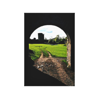 Torbogen in Irland Leinwanddruck