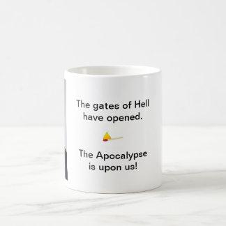 Tore der Hölle Kaffeetasse
