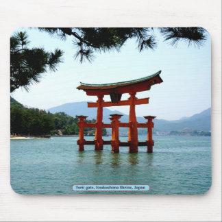 Torii Tor, Itsukushima Schrein, Japan Mauspad