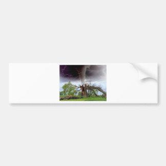 Tornado Autoaufkleber