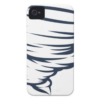 Tornado-Wirbelsturm-Hurrikantwister-Ikone iPhone 4 Hülle