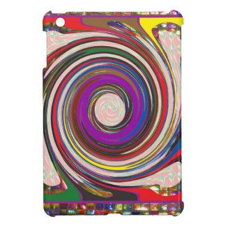 Tornado-Wirbelwind HighTide bewegt bunte Kunst iPad Mini Hülle