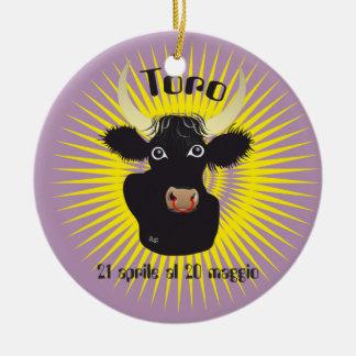 Toro 21 aprile al 20 maggio Ornament