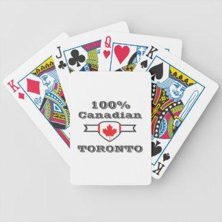 Toronto 100% bicycle spielkarten