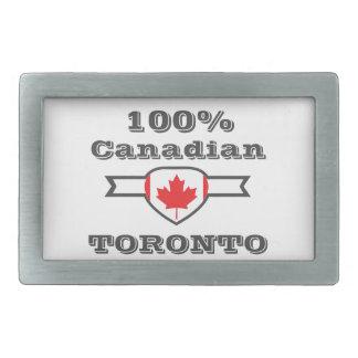 Toronto 100% rechteckige gürtelschnallen