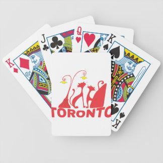 Toronto 1 bicycle spielkarten