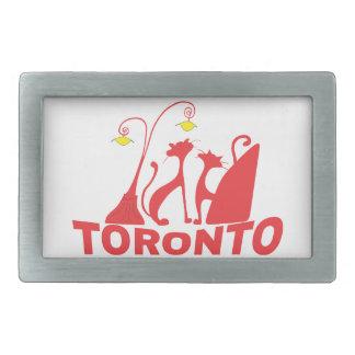 Toronto 1 rechteckige gürtelschnalle