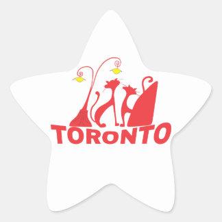 Toronto 1 Stern-Aufkleber