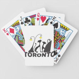 Toronto Bicycle Spielkarten