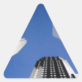 Toronto Dreieckiger Aufkleber