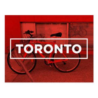 Toronto-Fahrrad-Postkarte Postkarte