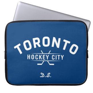 Toronto-Hockey-Stadt-Laptop-Hülse Laptop Sleeve