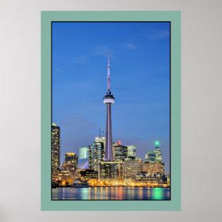 Toronto Kanada KN-Turmfoto Posterdruck