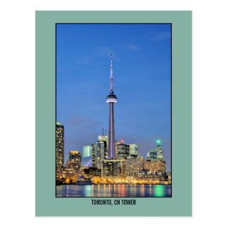 Toronto Kanada KN-Turmfoto Postkarte