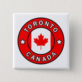 Toronto Kanada Quadratischer Button 5,1 Cm