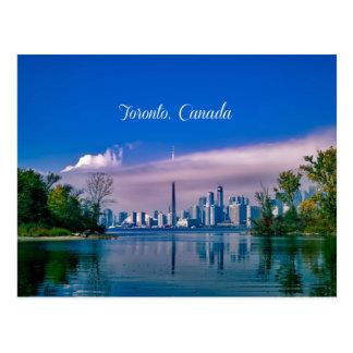 Toronto, Kanada-Stadtbild Postkarte