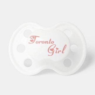 Toronto-Mädchen Schnuller