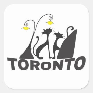 Toronto Quadratischer Aufkleber