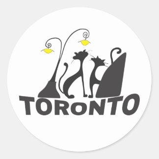 Toronto Runder Aufkleber