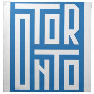 Toronto Serviette