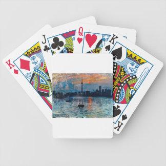 Toronto Skyline40 Bicycle Spielkarten