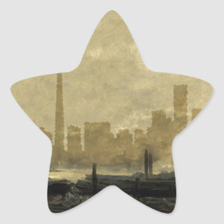 Toronto-Skyline 41 Stern-Aufkleber