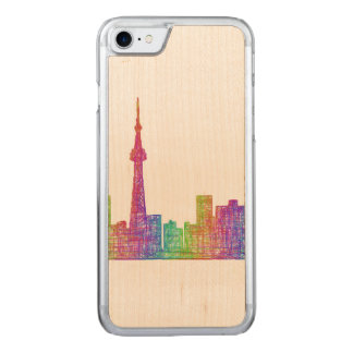 Toronto-Skyline Carved iPhone 8/7 Hülle