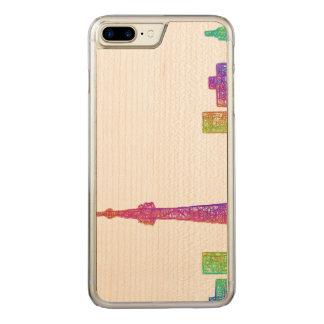Toronto-Skyline Carved iPhone 8 Plus/7 Plus Hülle