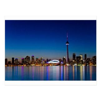 Toronto-Skyline Postkarte