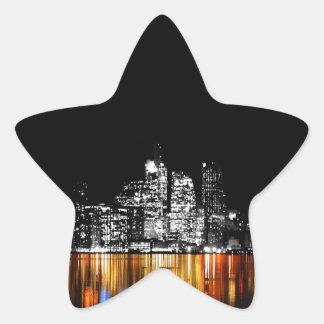 Toronto-Skyline Stern-Aufkleber