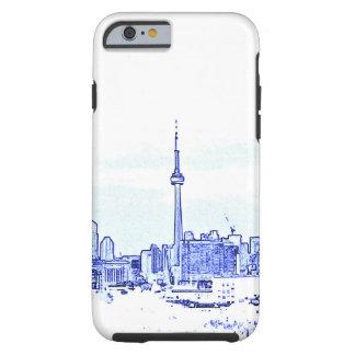 Toronto-Skyline Tough iPhone 6 Hülle