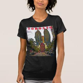 Toronto-Stadt T - SHIRTS, APPAREL KÜNSTLERISCHER T-Shirt