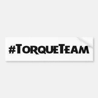 #TorqueTeam Aufkleber Autoaufkleber