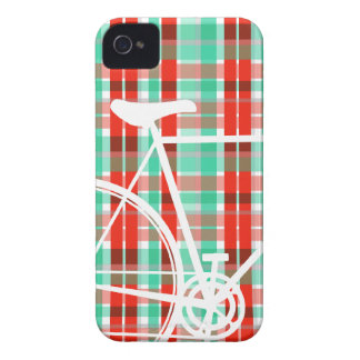 Torquoise abstraktes Fahrrad IPhone 4 iPhone 4 Hüllen