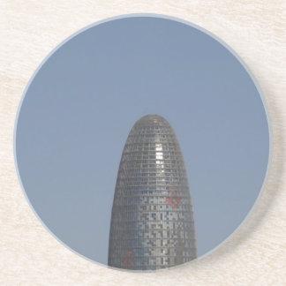 Torre Agbar, Barcelona Getränkeuntersetzer