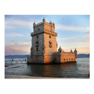Torre de Belém - Belem-Turm Portugal Postkarte