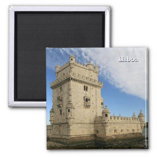 """""""Torre De Belem, Lissabon"""" Magnet Kühlschrankmagnete"""