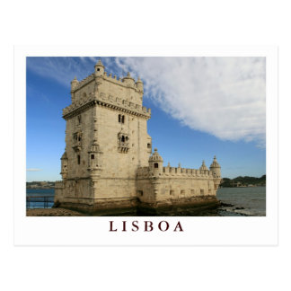 """Torre De Belem, Lissabon"" Postkarte"